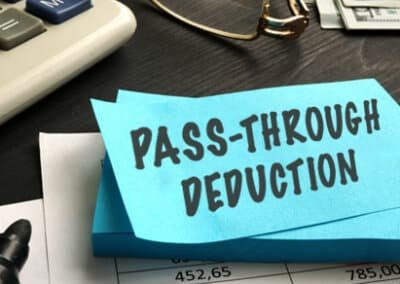 Pass-Through Deduction for Qualified Business Income